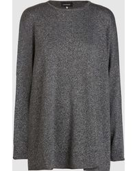 Eskandar - Glittered Cashmere-blend Sweater - Lyst