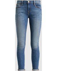 FRAME - Le Garcon Skinny Boyfriend Jeans - Lyst