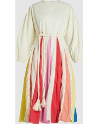 Rhode Resort - Colour Block Long Sleeve Swing Dress - Lyst
