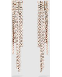Erickson Beamon - Long Crystal Earrings - Lyst
