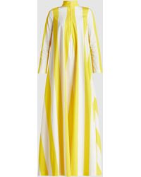 By. Bonnie Young - Striped Cotton Maxi Dress - Lyst