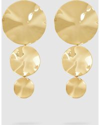 Monica Sordo - Gold-plated Cao Earrings - Lyst