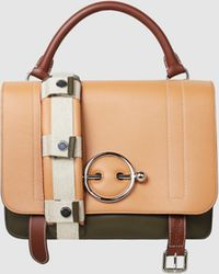JW Anderson - Disc Leather Satchel - Lyst
