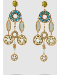 Marc Jacobs - Crystal Jewelled Earrings - Lyst