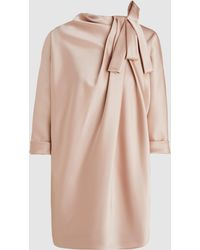 Marc Jacobs - Dolman Sleeve Tunic With Bow Detail - Lyst