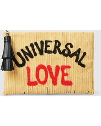 Eddie Universal Love Embroidered Clutch Sarah LaIIbXo9