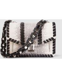 Proenza Schouler - Hava Python-effect Leather Shoulder Bag - Lyst