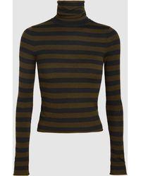 A.L.C. - Lincoln Merino Wool-blend Turtleneck Top - Lyst