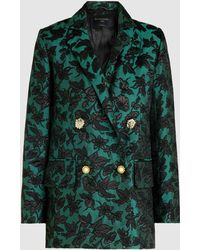 Mother Of Pearl - Baroque Patterned Blazer - Lyst