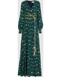 Peter Pilotto - Coupe Jacquard Gown - Lyst