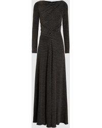 Talbot Runhof - Fifth Element Metallic Jersey Gown - Lyst