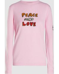 Bella Freud - Peace And Love Jumper - Lyst