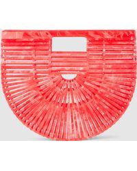 Cult Gaia - Small Acrylic Ark Bag - Lyst