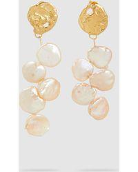 Alighieri - La Jette Gold-tone Baroque Pearl Earrings - Lyst