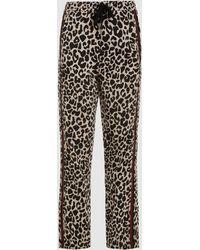 N°21 - Bartholome Leopard Print Trousers - Lyst