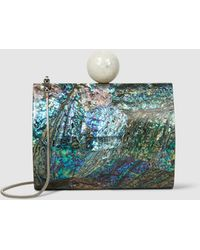 Nathalie Trad - Lilly Shell Clutch - Lyst