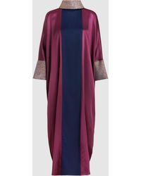 LAYEUR - Silk Seraphima Dress - Lyst