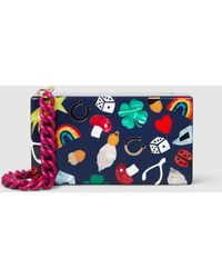 Edie Parker - Jean Lucky Charms Acrylic Box Clutch - Lyst