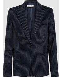 Golden Goose Deluxe Brand - Venice Wool And Silk-blend Blazer - Lyst