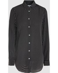 Equipment - Polka Dot Shirt - Lyst