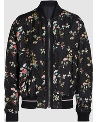 Haider Ackermann - Freesia Floral Print Reversible Bomber Jacket - Lyst