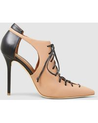Malone Souliers - Montana Leather Pointed Court Shoes - Lyst