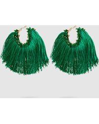 Rosantica - Coraggio Beaded Tasseled Earrings - Lyst