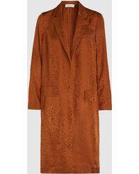 A.L.C. - Charleston Long Silk Jacket - Lyst