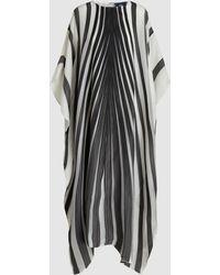 Taller Marmo - Striped Voile Kaftan - Lyst