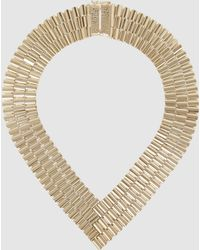 Rosantica - Casta Chain Link Gold-tone Necklace - Lyst