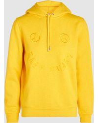 Ganni - Lott Isoli Embroidered Hoodie Sweatshirt - Lyst