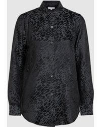 Equipment - Essential Silk-blend Jacquard Shirt - Lyst