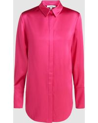 LAYEUR - Theresa Silk Shirt - Lyst