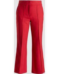 JOSEPH - Ridge Cropped Gabardine Trousers - Lyst