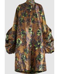 Richard Quinn - Floral Wide-sleeve Coat - Lyst