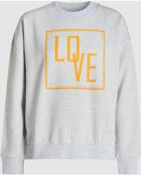 Baum und Pferdgarten - January Love-print Cotton-blend Sweatshirt - Lyst
