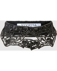 Vivetta - Hands Macramé Lace Collar - Lyst