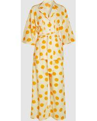Rhode Resort - Marigold Shirt And Trouser Set - Lyst