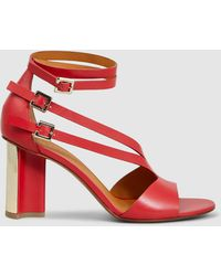 Clergerie - Ardent Leather Sandals - Lyst