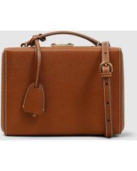 Mark Cross - Grace Small Leather Box Bag - Lyst