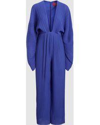 Solace London - Livia Long Sleeve Jumpsuit - Lyst
