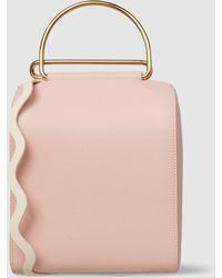 ROKSANDA - Besa Leather Wave Strap Bag - Lyst