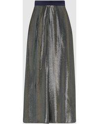 LAYEUR Mae High Shine Evening Trousers - Multicolour