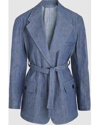 Lemaire - Cotton Jacket - Lyst