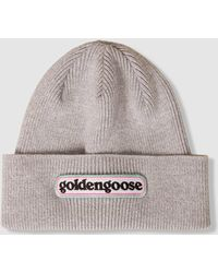 Golden Goose Deluxe Brand - Syrma Knitted Beanie Hat - Lyst