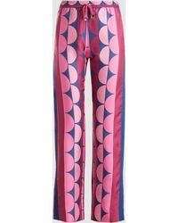 F.R.S For Restless Sleepers - Printed Straight-leg Trousers - Lyst