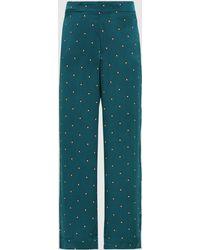 Beautiful Bottoms - Sandwashed Silk-satin Pyjama Bottoms - Lyst