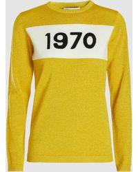 Bella Freud - 1970 Sparkle Wool-blend Jumper - Lyst