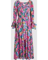 La Doublej Editions - After Swim Cotton Maxi Dress - Lyst