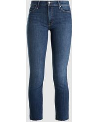Mother Denim - Rascal Ankle Snippet Cropped Jeans - Lyst
